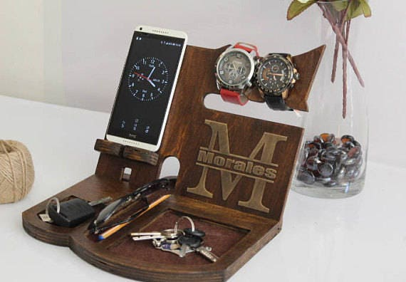 Personalized gift for boyfriend docking station gift boyfriend like this item negle Images