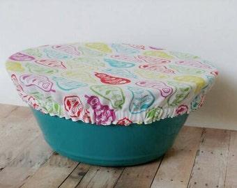 Reusable Bowl Cover, Retro, Pears Ecofriendly Food Storage, Cloth Bowl Cover