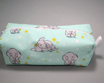 Boxy Makeup Bag - Disney's Dumbo Zipper - Pencil Pouch