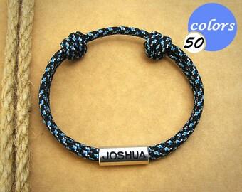 Mens friendship bracelet! Personalized friendship bracelet! Anniversary Gifts For Boyfriend. Gift For Men