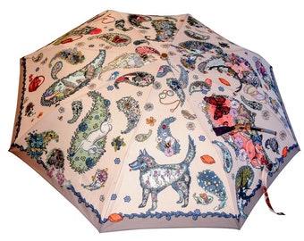 Quest Umbrella (unique design, automatic, three-folding, 27 cm length)