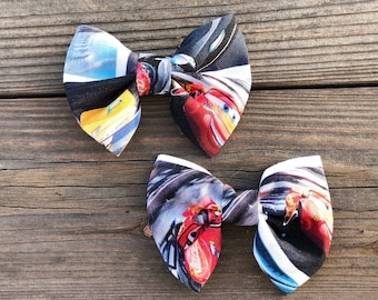 Cars 3 Cotton Bow