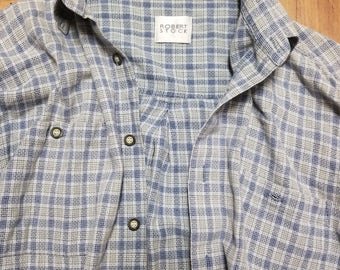 90s Men's Dress Shirt Size L?