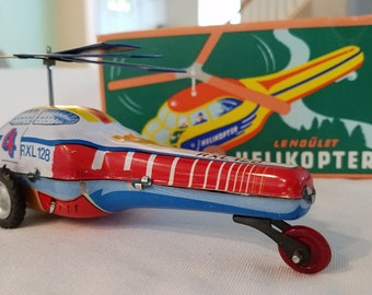 LIMITED EDITION HELICOPTER Tin Toy by Schylling