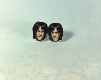 Daryl Dixon Stud Earrings