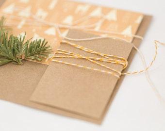 10 Gift Card Holder-Personalizable | Christmas or Hanukkah Gift Card Packaging | Business Card Holder | Small Envelopes | Favor Bag Wedding