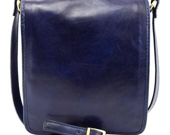 Genuine Leather Men Crossbody Bag