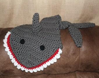 Shark Tail Blanket - Infant/Toddler