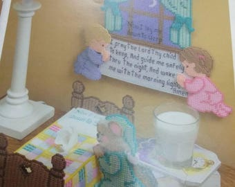 Nursery prayer tissue box cover