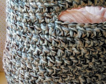 DIY PATTERN Crochet Storage Basket PDF Digital Download , Home decoration