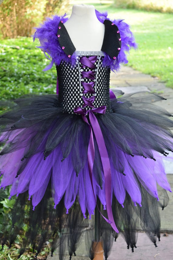 Disney Descendants Mal Tutu Dress