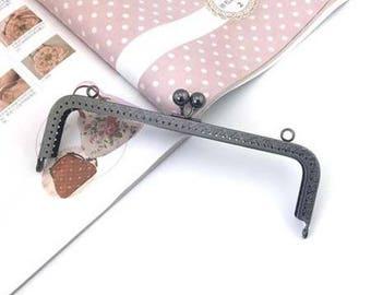 5 x large clasp with 20cm Classic Vintage metal gunmetal K278 bag