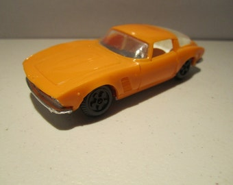Vintage plastic collection car ISO GRIFO  made in USSR