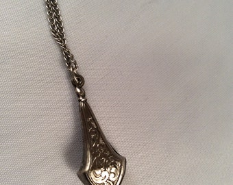Vintage & Unique Silver Charm Necklace