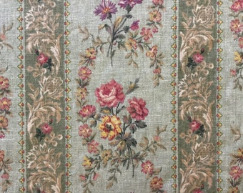 FABRIC SALE!!! Portfolio Vining Floral - Upholstery Fabric by the Yard