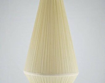 Vintage fabric pendant light.