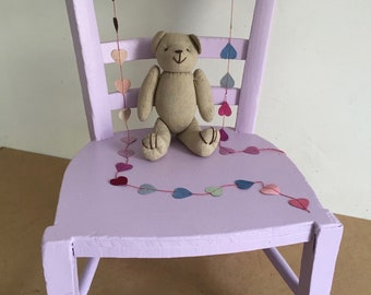 Lilac pink Chair