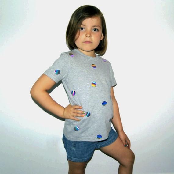 Holograph Applique Shimmer T-Shirt V60QPAI4u