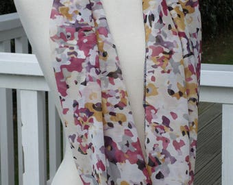 Snood loop scarf women neck scarf