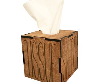 SNEEZE! Tissue Box Cover