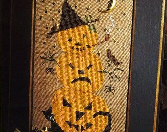 Pumpkins 'A Plenty ~ Cross Stitch Pattern Only