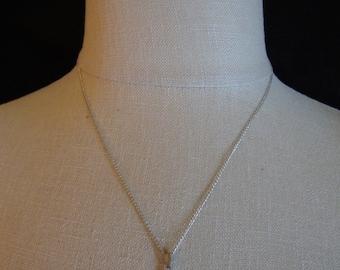 Cross Pendant Necklace, Vintage