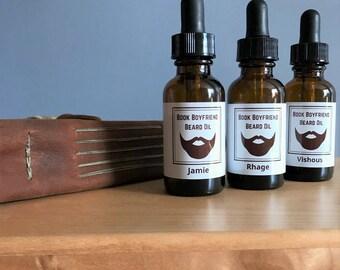 Book Boyfriend Beard Oil Gift Set