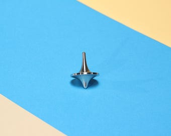 The Spin Stainless Steel Spinning Top // fidget // Stress Management // Gyro
