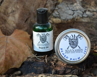 Beard Oil & Beard Balm Beard Kit - 1975 (Patchouli scent beard oil and beard balm) top selling items, essential oil blend most popular items