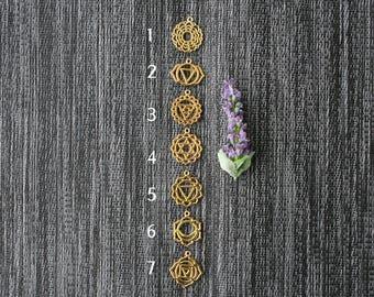 7 Chakra Pendants / Chakra Necklaces/ Chakra Jewelry