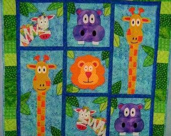 Playful Jungle Quilt