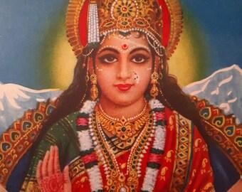 Hindu goddess santoshi maa