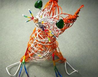 Commission Cat Keepsake, Etsy Cat Portrait, Personalized Cat Ornament Gift, Trending Meow, Etsy Cat Art, Wire Sculpture Cat Artist,Pet Decor