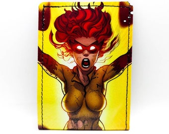 X-Men Wallet - Firestar Wallet - Comic Book Wallet