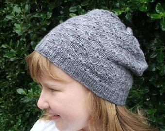 PDF Abbie Slouch Beanie Knitting Pattern