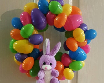 Small easter egg wreath