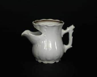 vintage victorian shaving scuttle mug