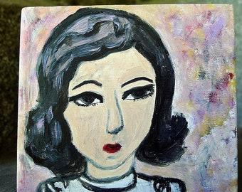 Isuzu. Original oil painting  by Vivienne Strauss.