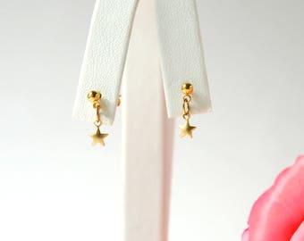 Star earrings, gold star earrings, north star earrings, minimalist earrings, star earrings, Valentine's day