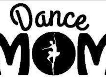 Dance Mom Decal