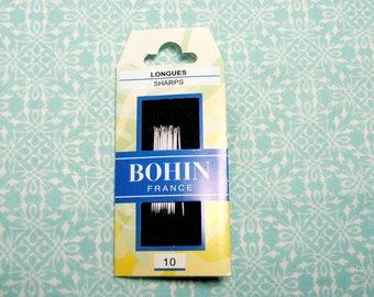BOHIN Sharps embroidery needles