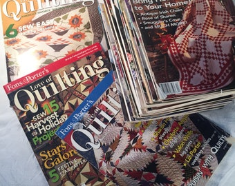 22 Fons and Porters For the Love of Quilting Magazines