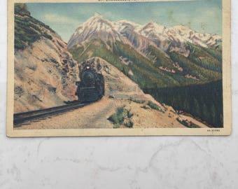 Vintage Postcard 1942 Yoho National Park British Columbia Canada