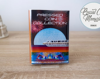 Pressed Penny Collection Book - EPCOT Walt Disney World