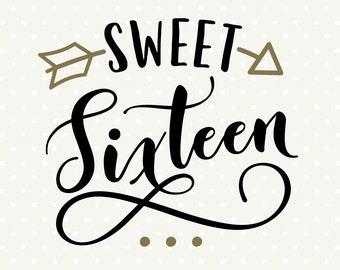 sweet 16 shirt etsy rh etsy com sweet 16 logo cliparts sweet 16 logo basketball