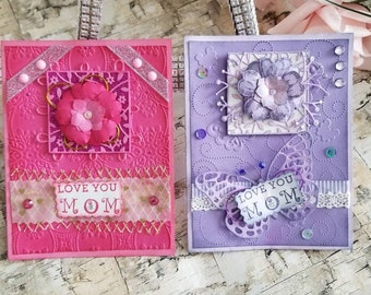 Happy  Mother's day  Card, Handmade card, Mom card
