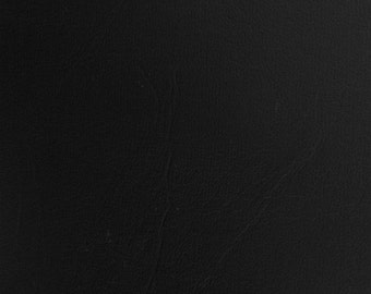 """Black Vinyl Fabric Faux Leather Pleather Upholstery 54"""" Wide By the Yard"""