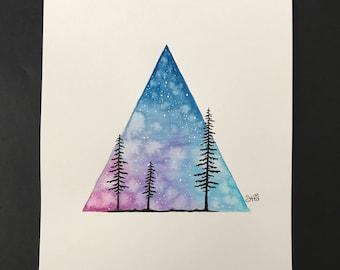 Triangular Trees