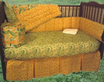 SALE! Sunshine Garden Baby Crib Bedding by Dance With Joy Baby Bedding