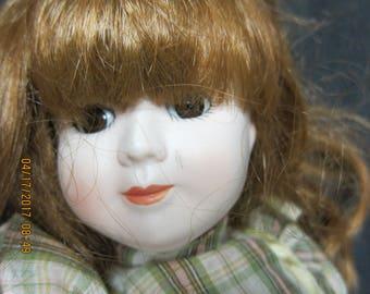 Heritage 15 inch Doll Plaid Dress